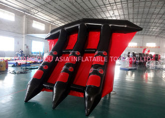 China Kundengebundenes Logo Towable Inflatables/aufblasbarer fliegender Fisch für Meer usine