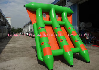 China 4-6 fliegen Sport-Spiele Passangers InflatableTowable Fischerboot-Fisch-Floss-Boot usine