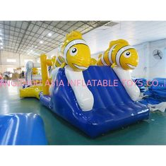 China Aufregender Nimo-Thema-Aqua-Lauf Inflatables/explodieren Wasser-Hindernislauf usine