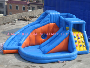 China Rosa aufblasbarer Vergnügungspark mit Miniprinzessin Bouncer Castle With Slide usine