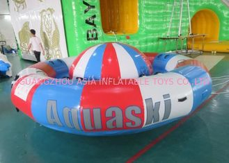China Spinnendes Boot Digital-Druckdrehscheibe Inflatables, 8 Personen-Towable Rohr usine