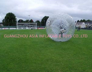 China Transparenter Zorb-Ball für Gras-Spiel usine