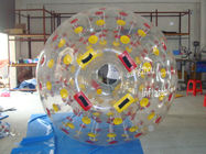Nice Colorful Zorb Ball Played on Grassland, On Water, On Snow, On Sand and Playground